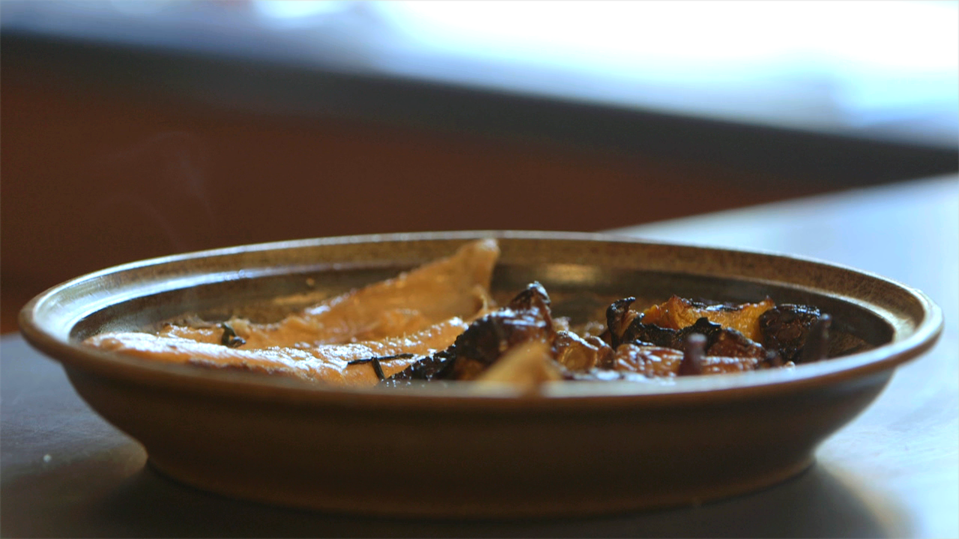 Pan Fried Rainbow Trout with Birch Butter & Roasted Roots
