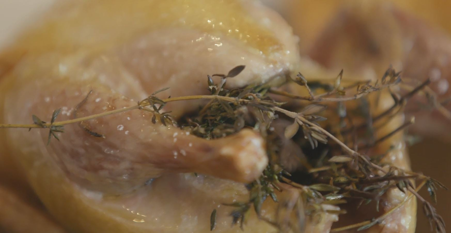 Roast Partridge With Thyme & Traditional Manger Food